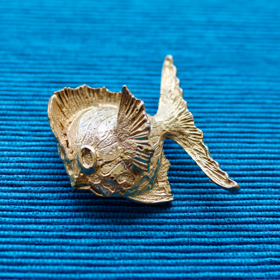 Tropical Fish Brooch