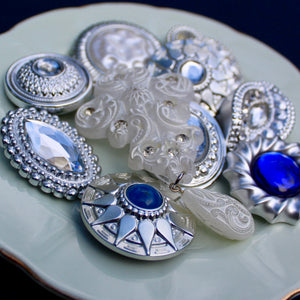 Silver and Blue Frost Collection
