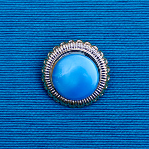Elizabethan Style Blue and Green Spheres