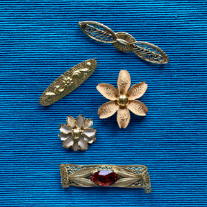 Filigree Collar Pin