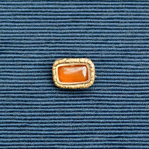 Victorian Amber Pin