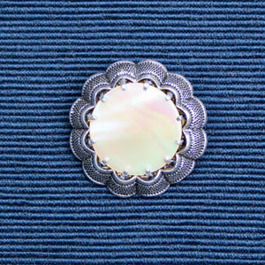 Scalloped Mother of Pearl
