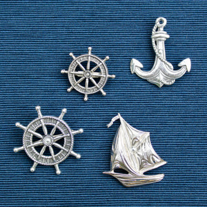 vintage nautical brooches