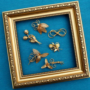 1930s vintage brooches
