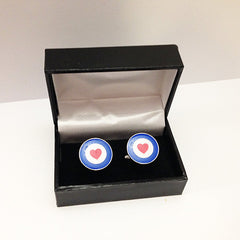 Heart on Your Sleeve cufflinks