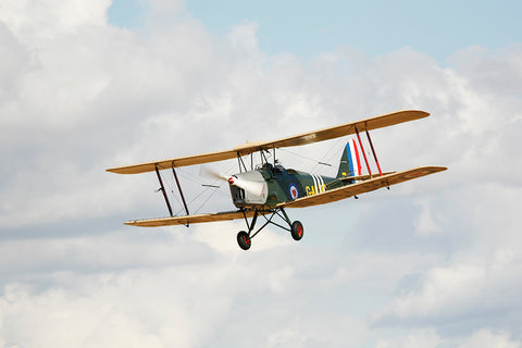 Flight in a Tiger Moth