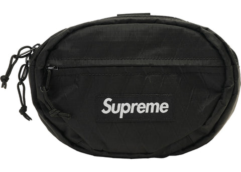"Supreme ""Waist Bag"" Black (FW18)"