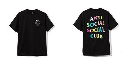 "Anti Social Social Club ""Frenzy"" Tee Shirt"