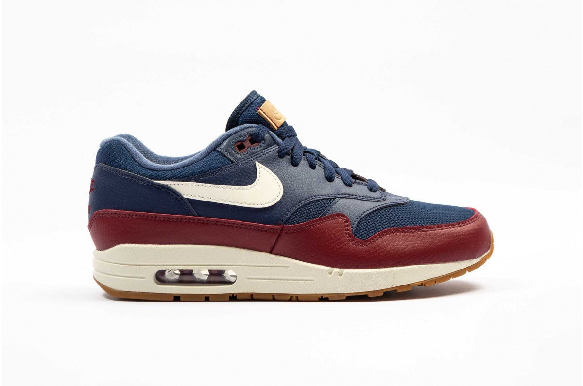 "Nike Air Max 1 ""Navy Team Red"""