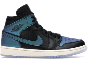 "Air Jordan Retro 1 Mid ""Iridescent Black"""