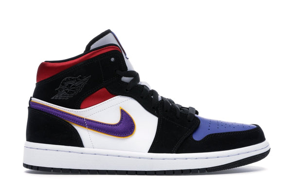 "Air Jordan Retro 1 Mid ""Laker Top 3"""