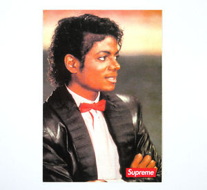 "Supreme ""Michael Jackson"" Sticker"