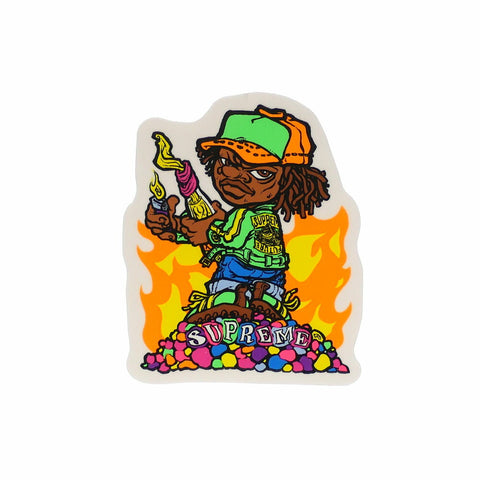 "Supreme ""Molotov Kid"" Sticker"