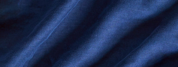 an close up image showing the fine quality of our hemp fabric