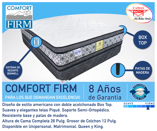 Comfort Firm Box Top