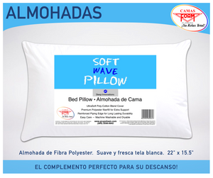Almohada Soft Wave