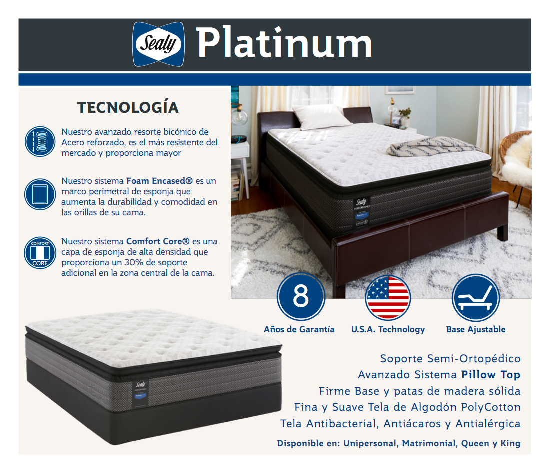 Sealy Platinum