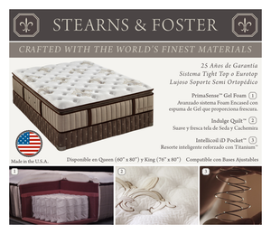Stearns & Foster Euro Top