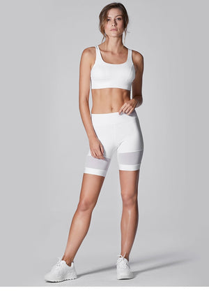 Mesh Patchwork Short