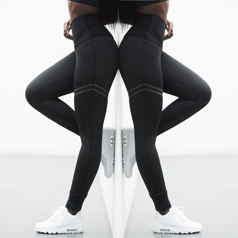 Elastic women leggings