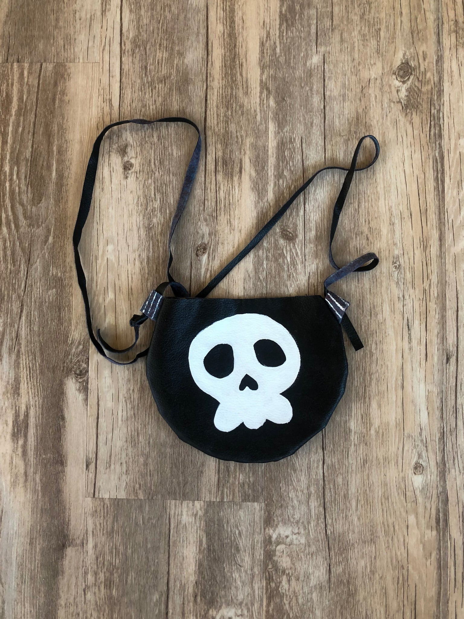 Skull and Stripes Purse