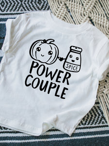 Pumpkin Spice Power Couple Tshirt