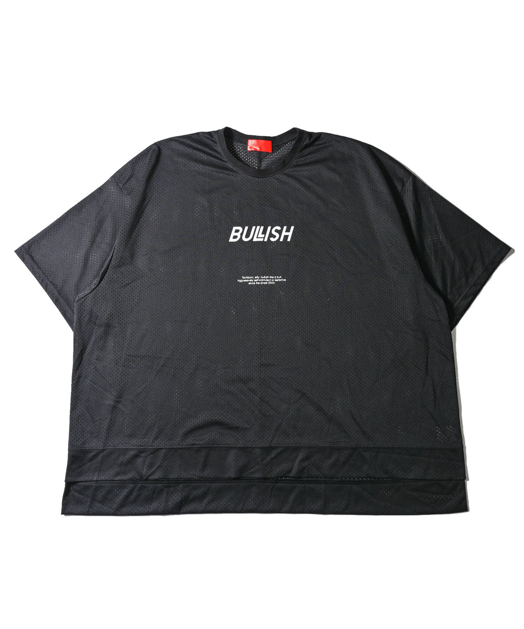 BULLISH LOGO MESH BIG SHORT SLEEVE T-SHIRT