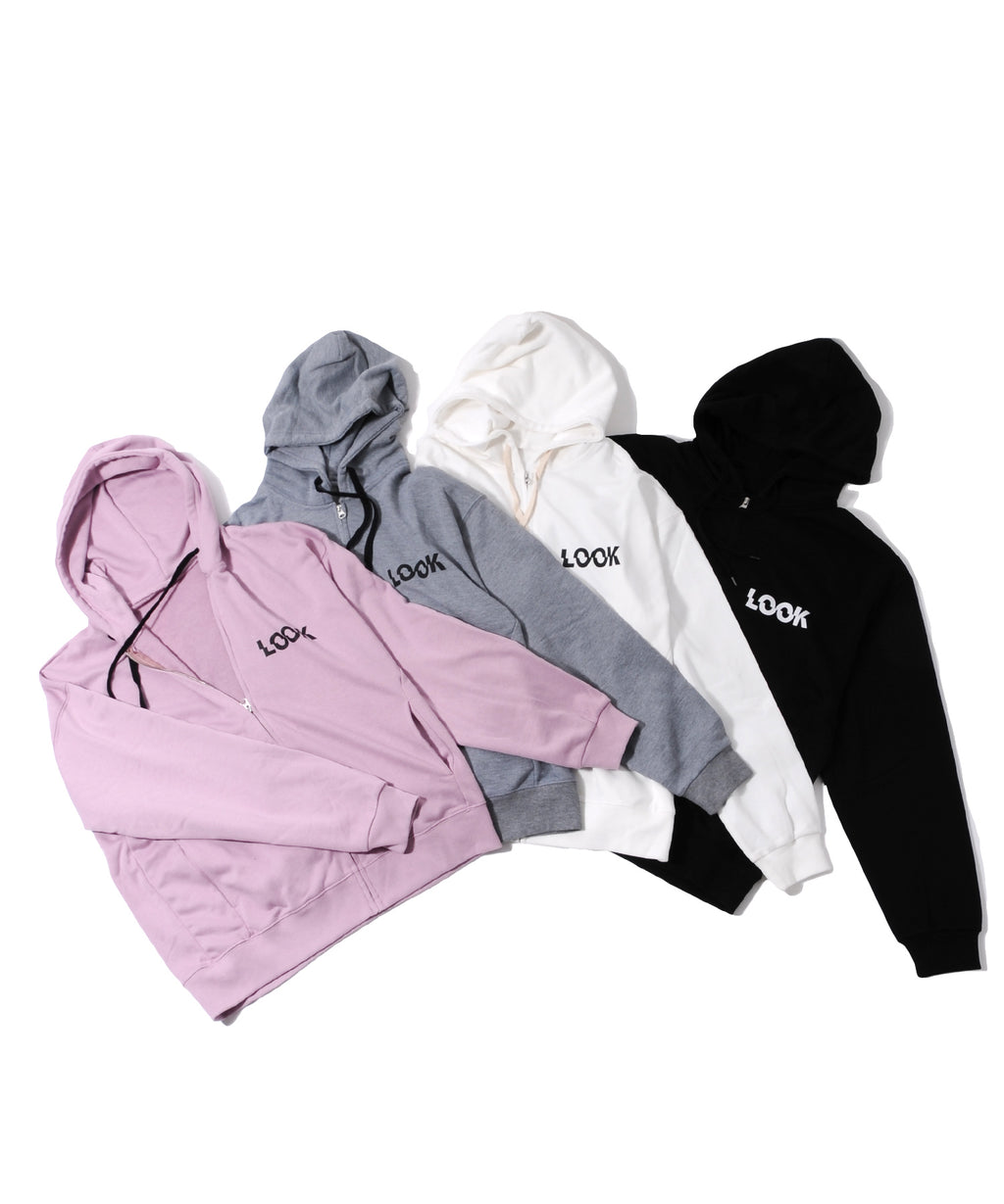 BULLISH Fleece Loose Fit Zipup Hoodie