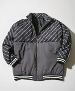 Line blouson with batting