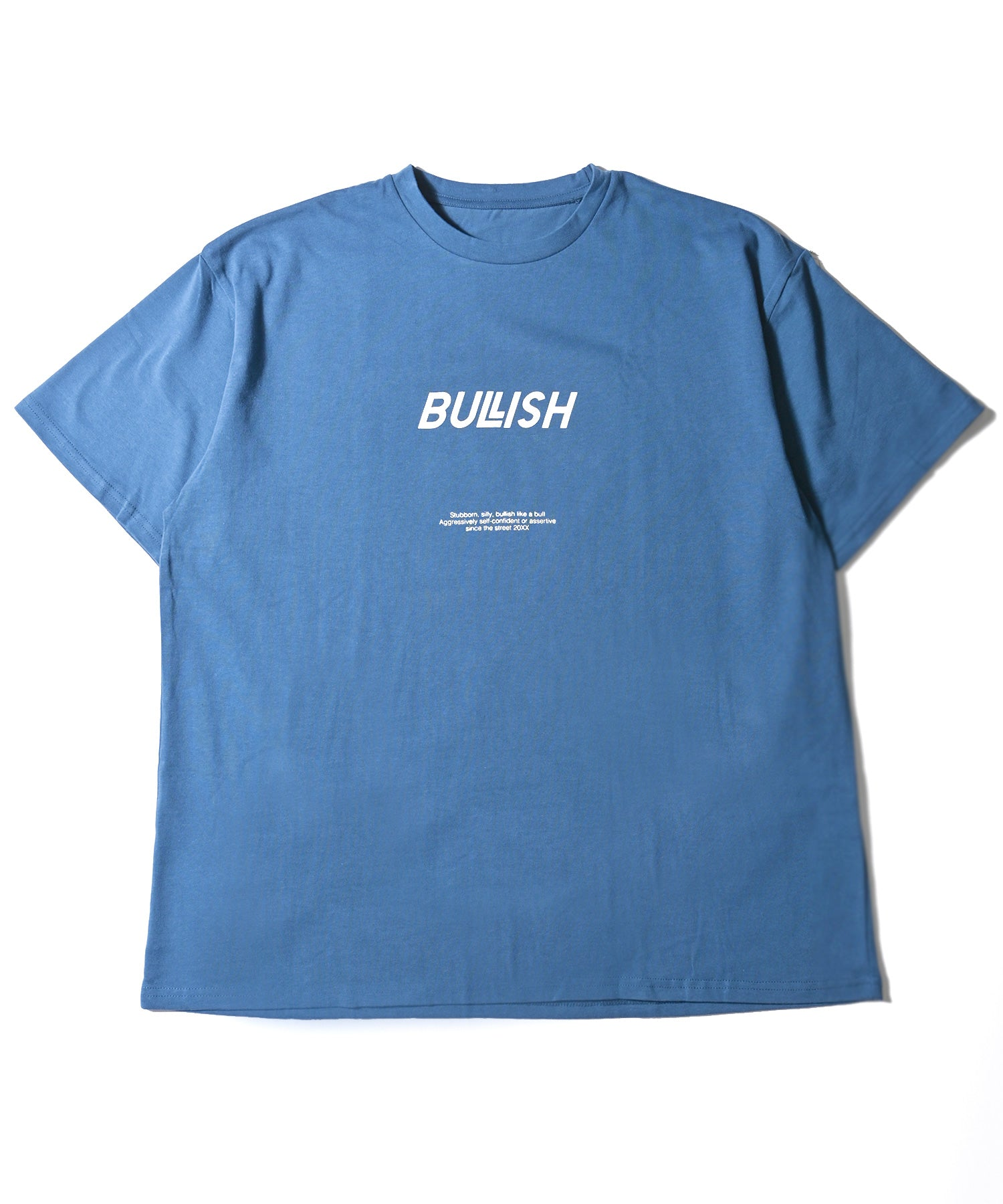 BULLISH LOGO PRINT LOOSE T-SHIRT