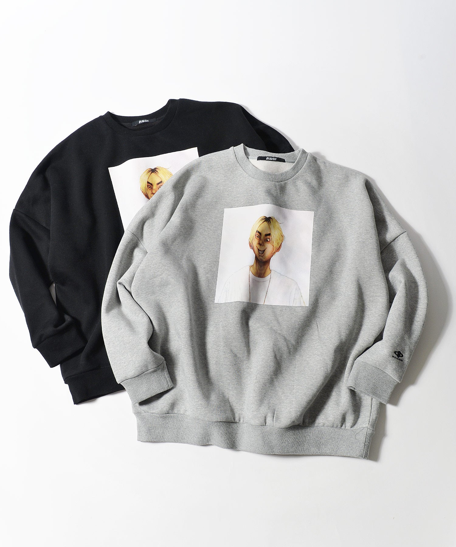sablo mikawa SALU ART WORK Brushed pullover sweat