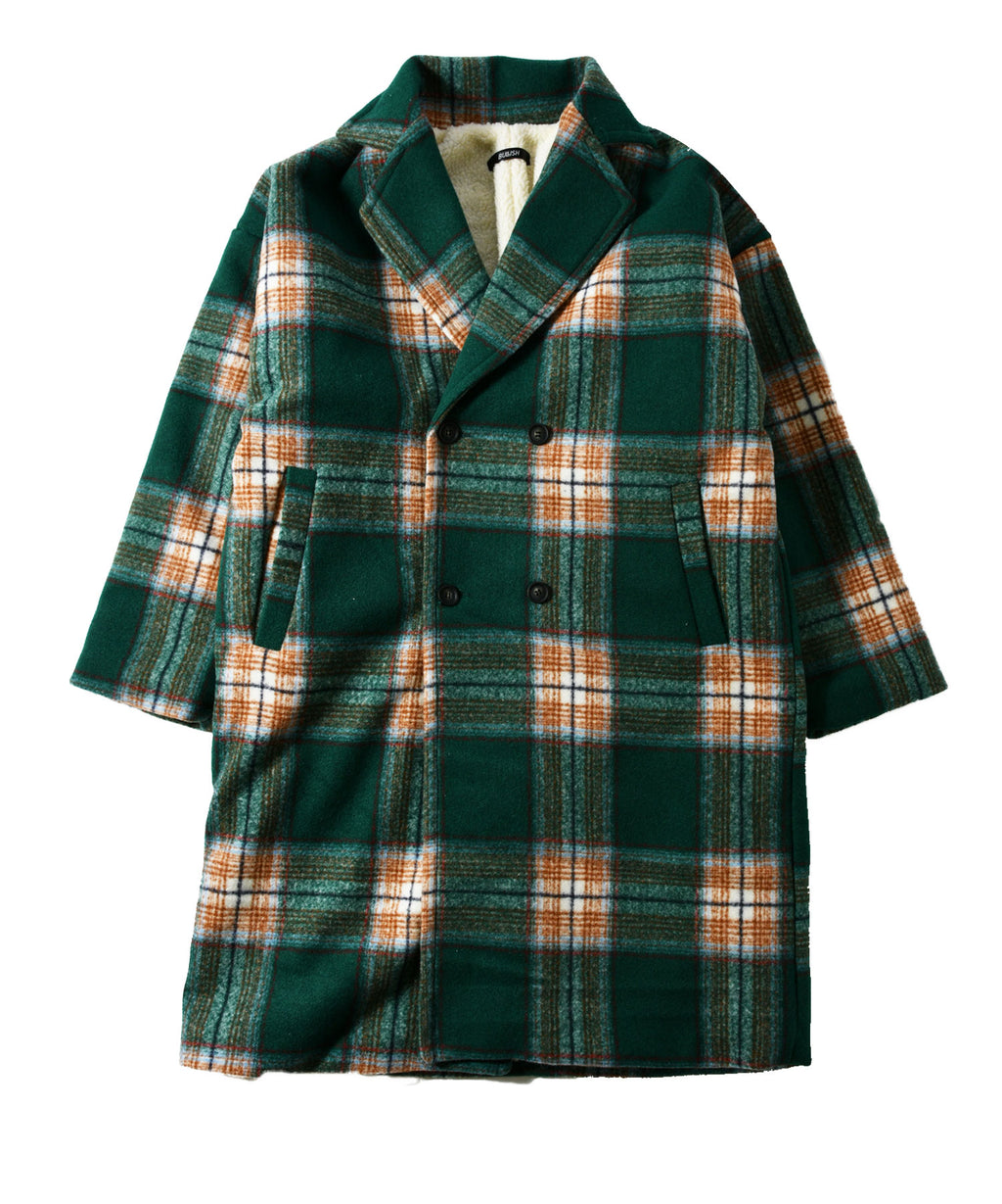 Back Bore Check Chester Coat