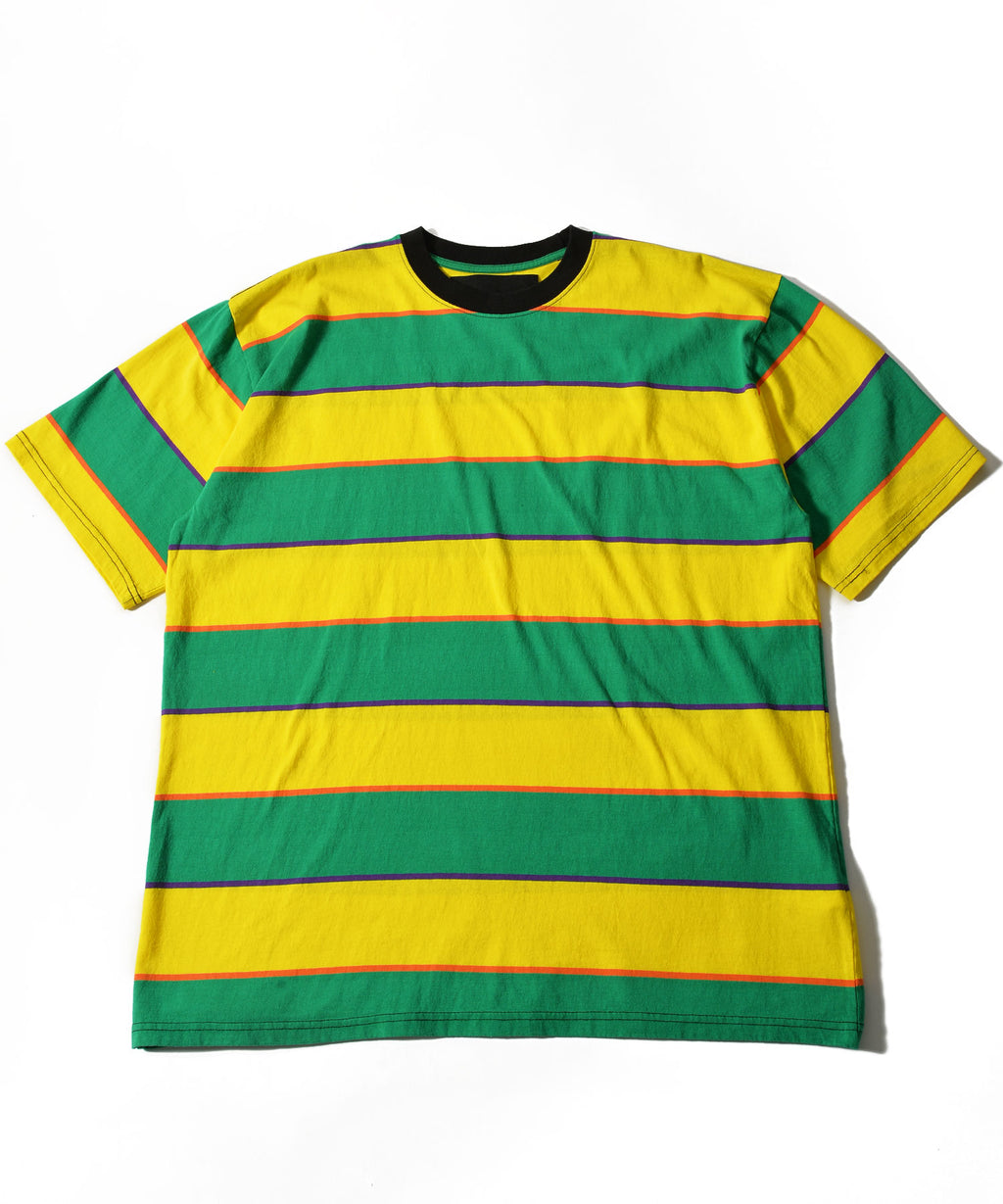 big-border short sleeve T-shirt