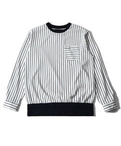striped shirt trainer