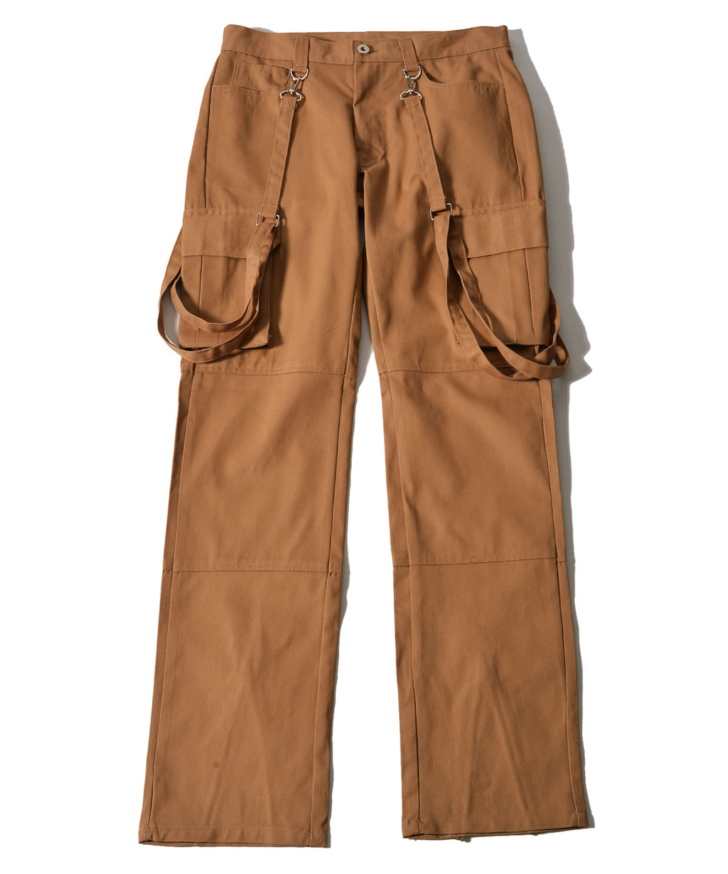 Cargo pants with BULLISH suspension