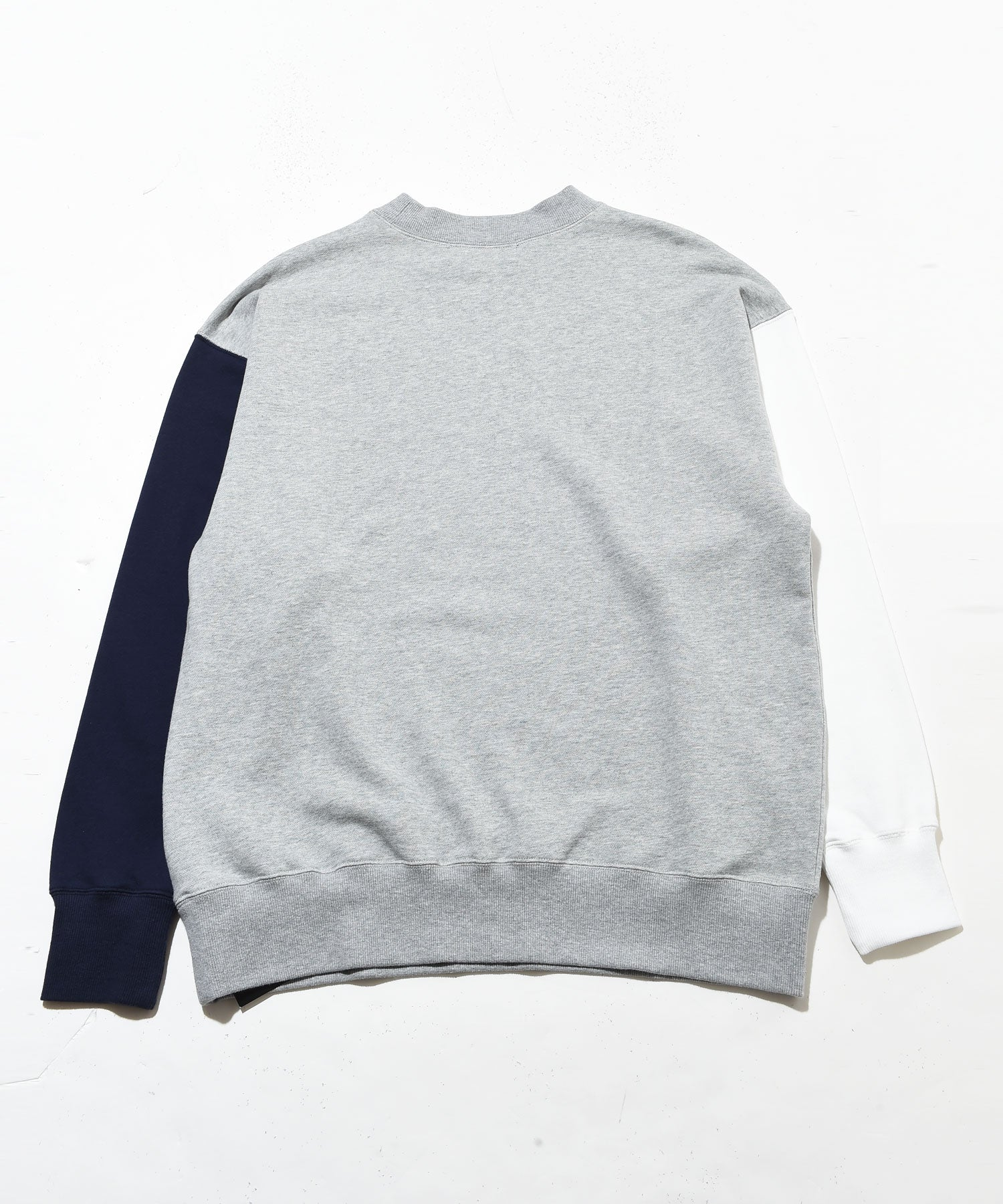 Multicolor crew neck sweat shirt