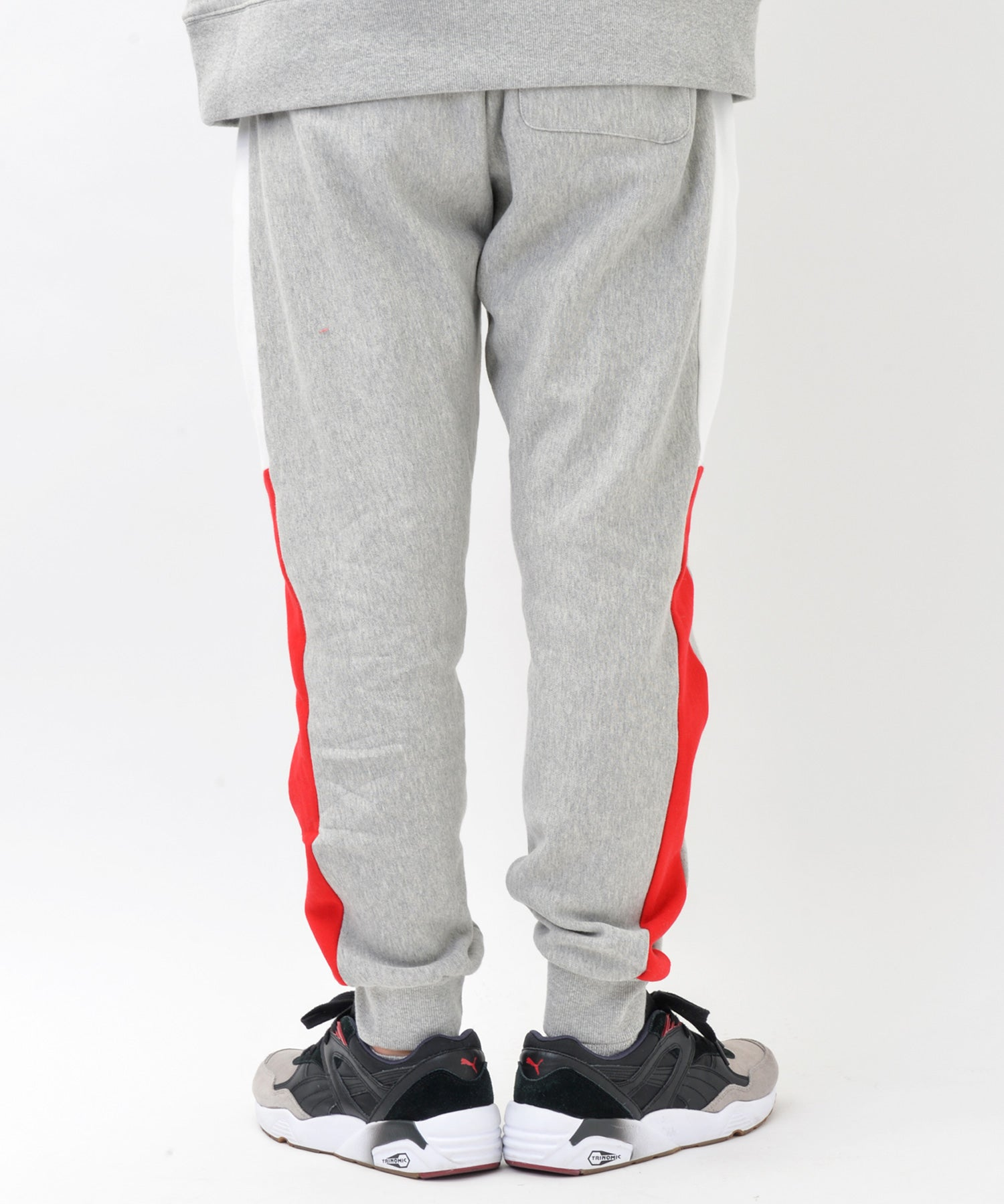 Fleece Sweat Bicolor Hoodie & Pants Setup