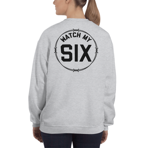 Barbed 'Watch my Six' Sweatshirt