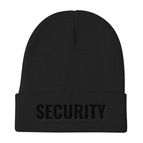 Basic 'SECURITY' Beanie
