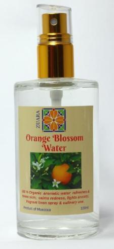 Organic Orange Blossom Water 100 ml
