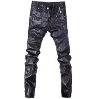 Fashionable Leather Pants