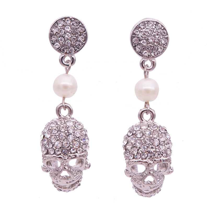 Goth Skull Earrings