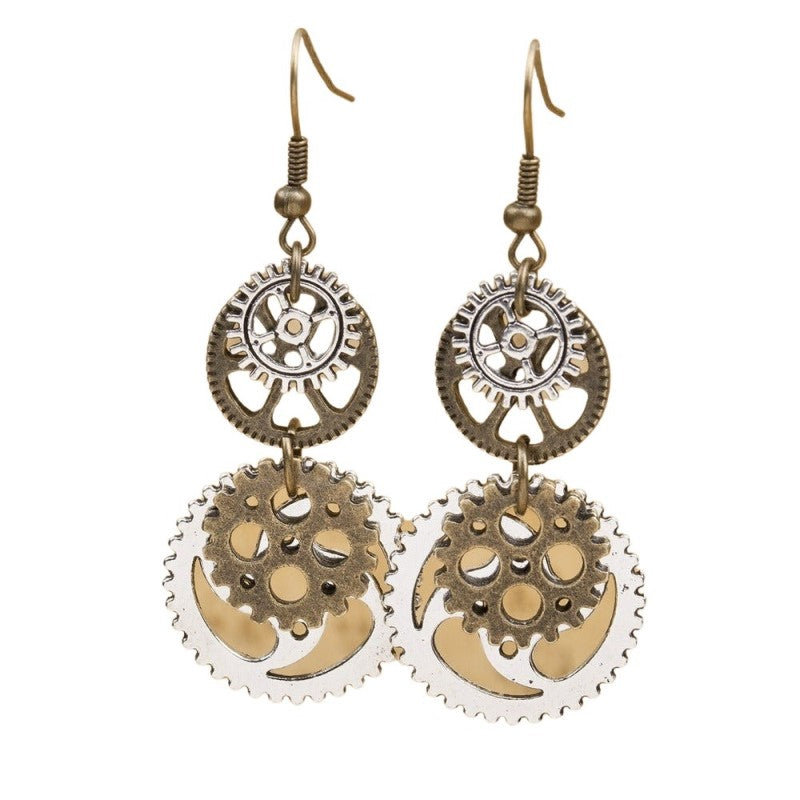 Engine Earrings
