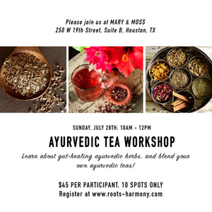 Ayurvedic Tea Workshop
