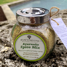 Load image into Gallery viewer, Ayurvedic spice mix jar front