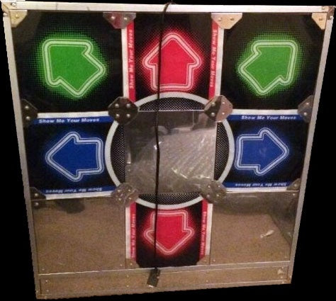 Dance Dance Revolution DDR 6-panel hard metal dance pad