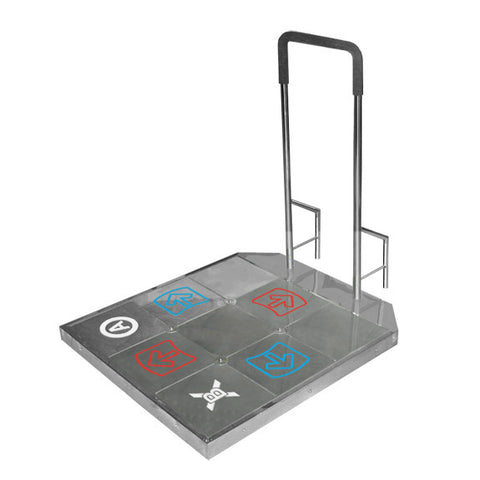 TX 6000 Dance Dance Revolution hard metal dance pad adapter USB for PC to play step mania StepMania DDR