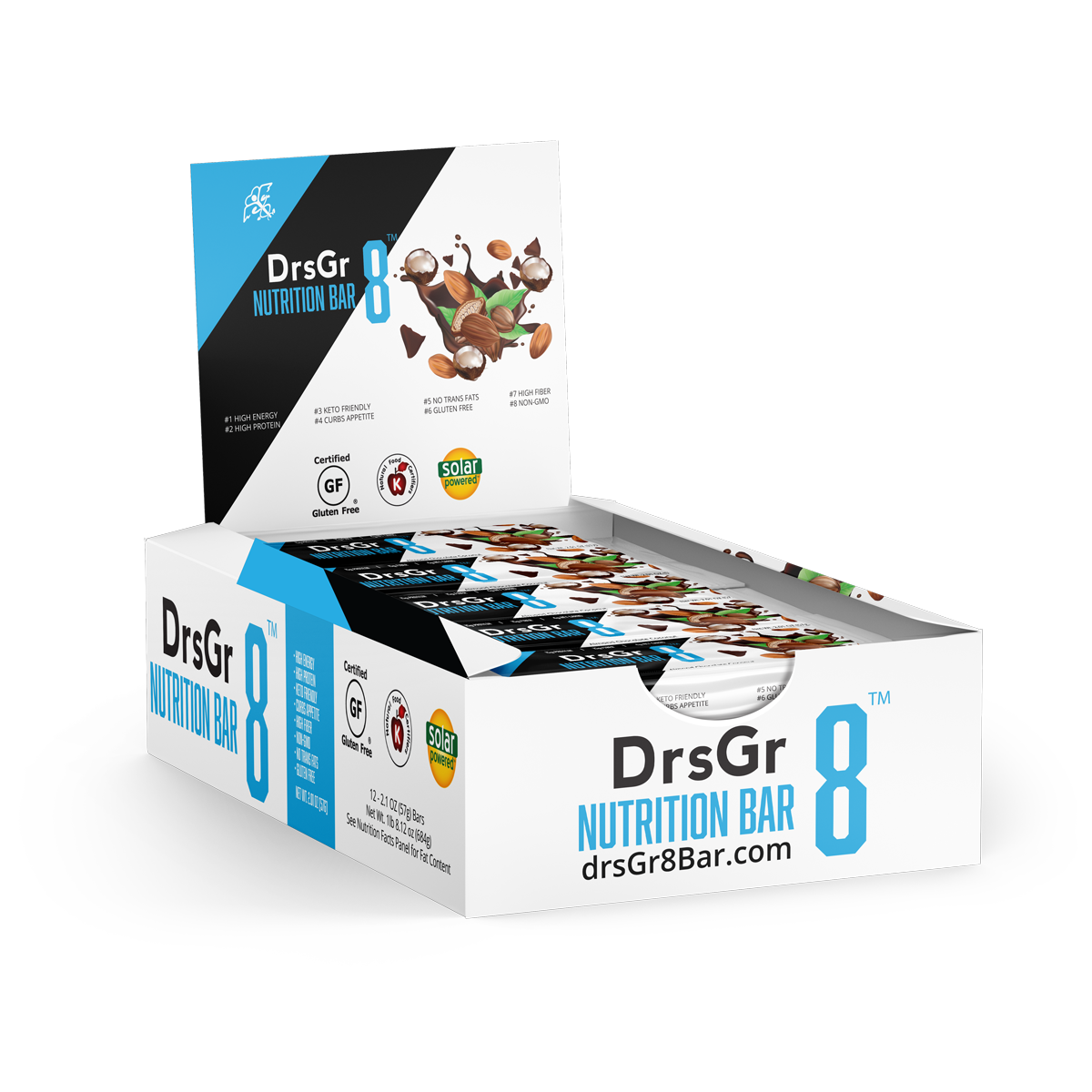 Gr8 Nutrition That Supports Your Healthy Lifestyle (Box of 12)
