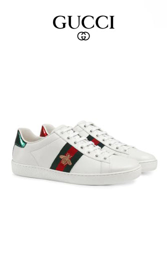 Load image into Gallery viewer, Gucci Ace Embroidered Low Top Sneakers -  5starclothing.co ...