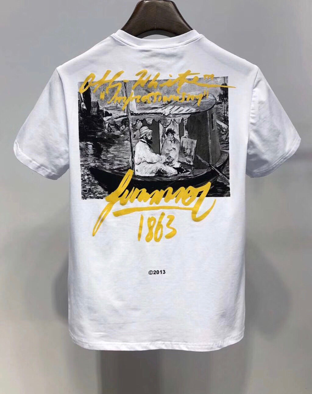 1477f400 ... Load image into Gallery viewer, OFF-WHITE 1863 'IMPRESSIONISM' T-SHIRT  ...